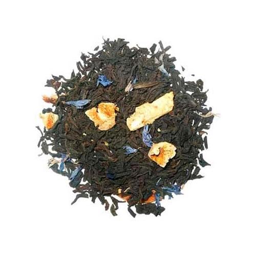 Thé noir à l'orange aromatisé bergamote, orange et pamplemousse